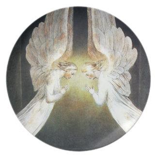 William Blake Angels Plate