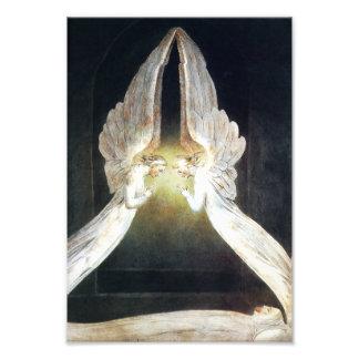 William Blake Angels Print