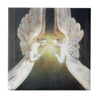 William Blake Angels Tile