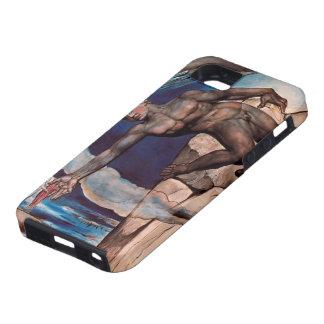 William Blake- Antaeus setting down Dante & Virgil iPhone 5 Case