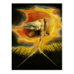 William Blake Art God Postcards