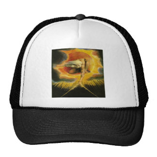 William Blake Art God Trucker Hat