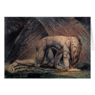 William Blake Art nebakanezer Card