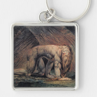 William Blake Art nebakanezer Keychain