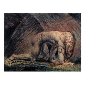 William Blake Art nebakanezer Postcard