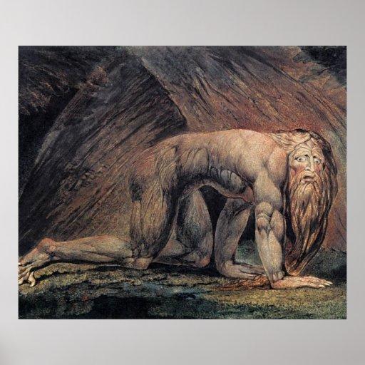 William Blake Art nebakanezer Print