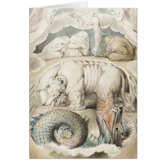 William Blake Art Painting Card