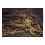 William Blake Art Painting Greeting Card