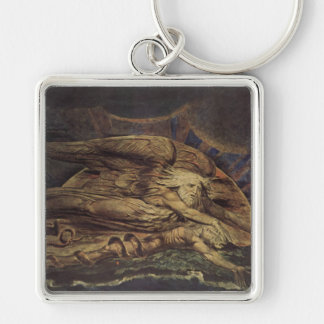 William Blake Art Painting Keychain