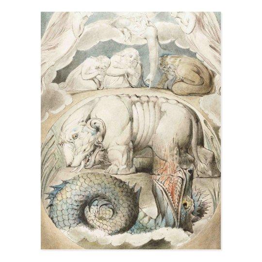 William Blake Art Painting Postcard