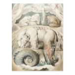 William Blake Art Painting Postcards