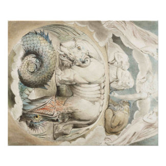 William Blake Art Painting Poster