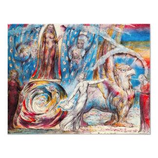 William Blake Beatrice Invitations
