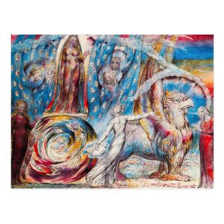 William Blake Beatrice Postcard