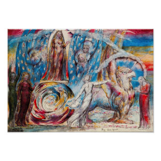 William Blake Beatrice Poster