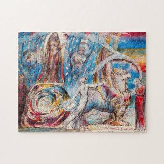 William Blake Beatrice Puzzle