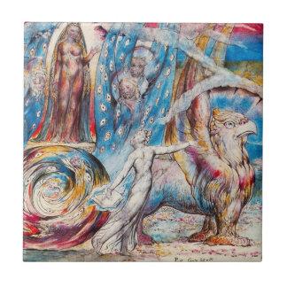 William Blake Beatrice Tile