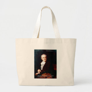"William Blake ""Become Wise"" Wisdom Quote Gifts Large Tote Bag"