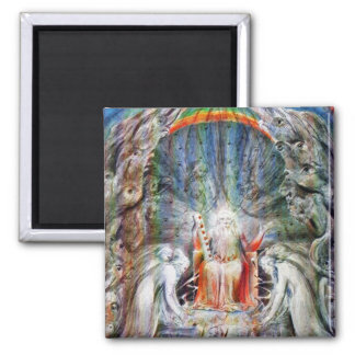 William Blake: Before the Divine Throne Refrigerator Magnet