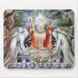 William Blake: Before the Divine Throne Mouse Pad