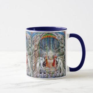 William Blake: Before the Divine Throne Mug