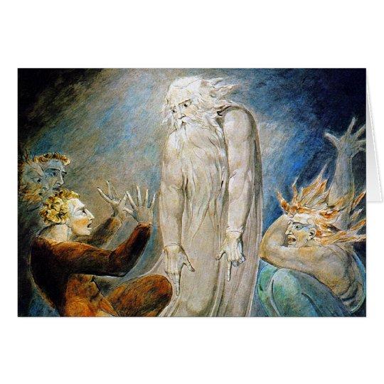 William Blake Card: Milton's Mysterious Dream Card