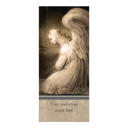 William Blake CC0217 Angel Custom Invitation Card