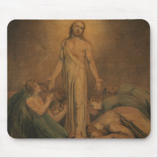 William Blake - Christ Appearing to the Apostles Mouse Pad