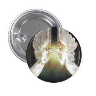 William Blake Christ in the Sepulchre Button