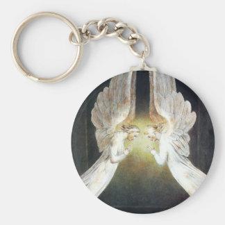 William Blake Christ in the Sepulchre Key Chain