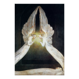 William Blake Christ in the Sepulchre Poster