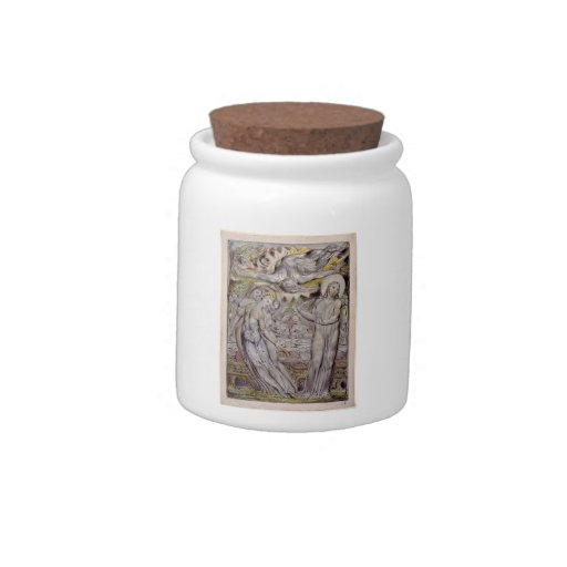 William Blake-Christ refusing the banquet by Satan Candy Jars