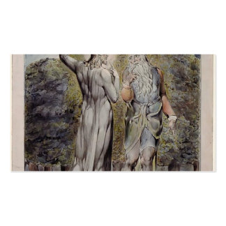 William Blake- Christ Tempted by Satan Double-Sided Standard Business Cards (Pack Of 100)