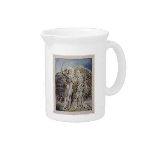 William Blake- Christ Tempted by Satan Drink Pitchers