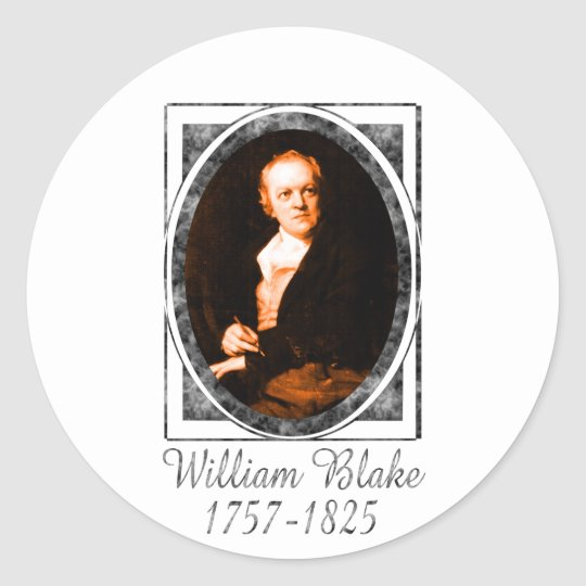 William Blake Classic Round Sticker