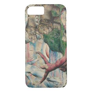 William Blake -Dante Running from the three Beasts iPhone 8/7 Case