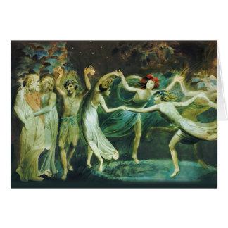 William Blake Fairies dancing CC0765 Card
