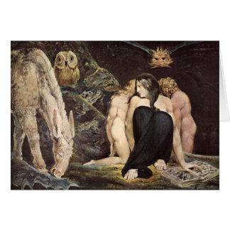 William Blake Hecate Greeting Card