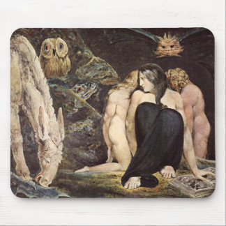William Blake Hecate Mouse Pad