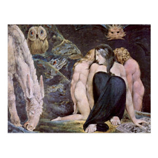 William Blake - Hecate - Night of Enitharmon's Joy Post Cards