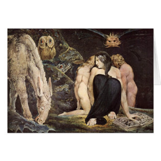 William Blake Hecate Note Card