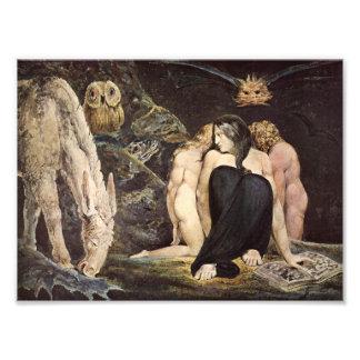 William Blake Hecate Print Photo