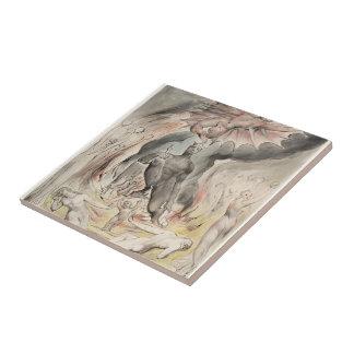 William Blake: Illustration Christ`s Nativity Tiles