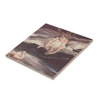 William Blake-Illustration to Dante's DivineComedy Tile
