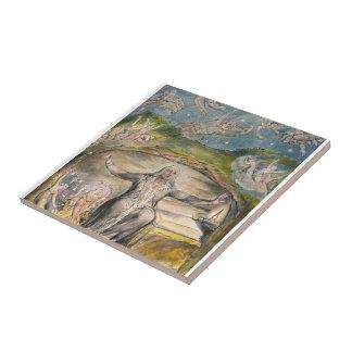 William Blake: Illustration to Milton`s L`Allegro Ceramic Tiles