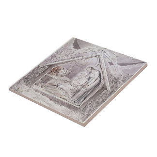 William Blake: Illustration to Milton`s Tiles