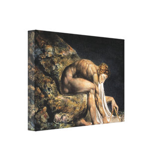 William Blake Isaac Newton Canvas Print