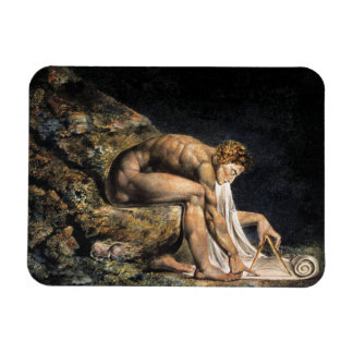 William Blake Isaac Newton Magnet