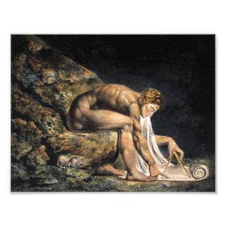 William Blake Isaac Newton Photo Art