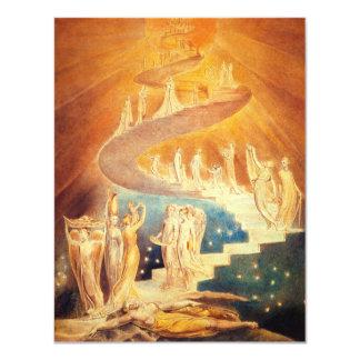 William Blake Jacob's Ladder Card